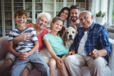 Моя семья+Профессии на немецком - Диалоги, рассказ, слова с переводом, упражнения